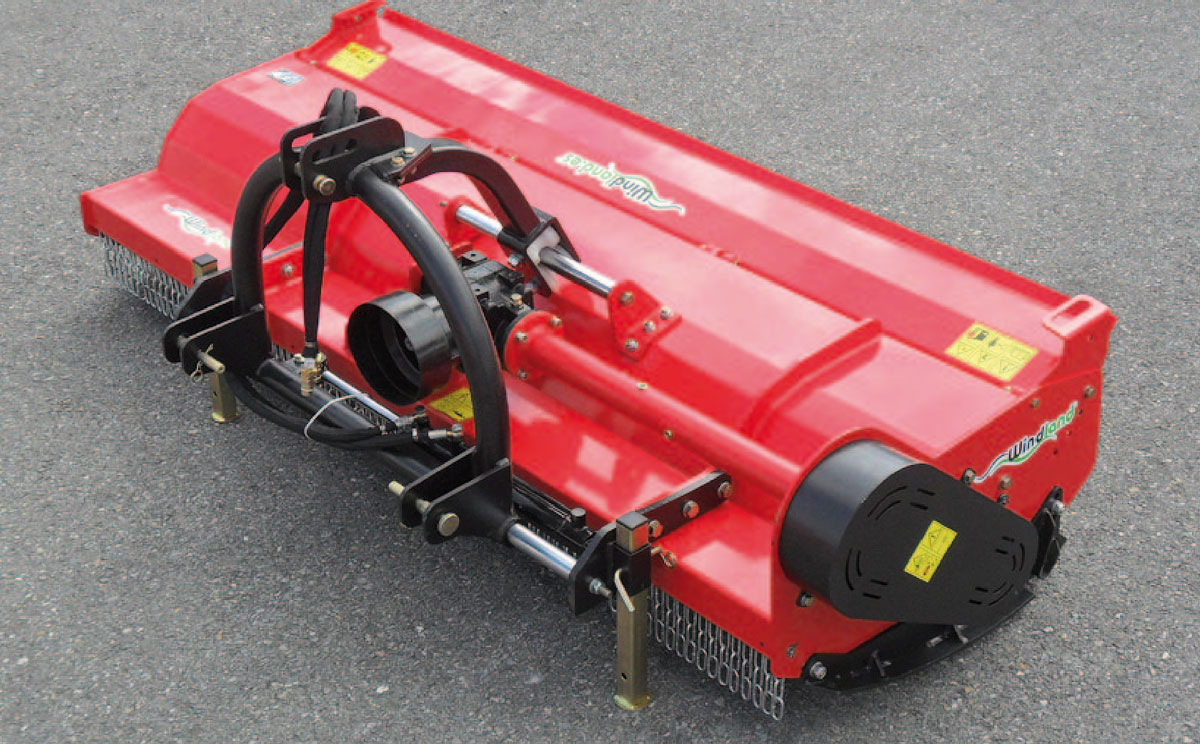 Trituradora desplazable hidráulica WindLand