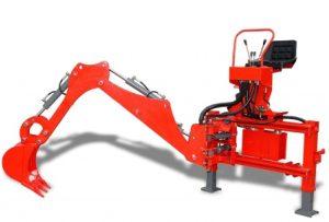 Excavadora BMH3000 para minitractor Kubota