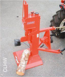 Tronzadora de leña CLHW para minitractor Kubota